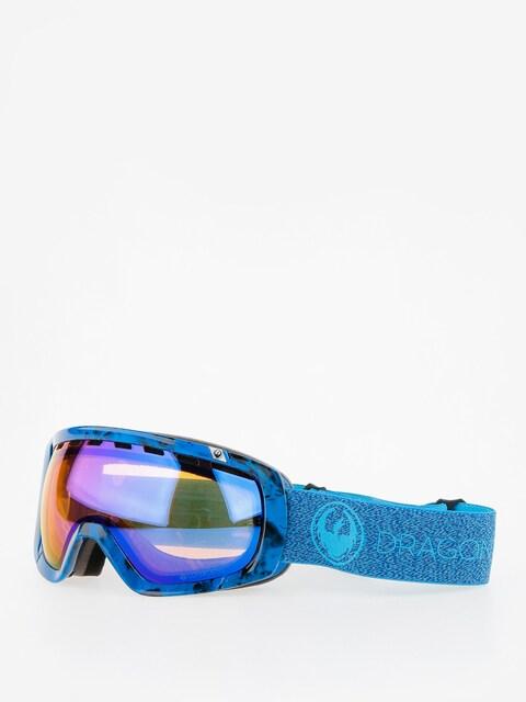 Dragon Goggle Rouge (mill/lumalnes blue ion/l amber)