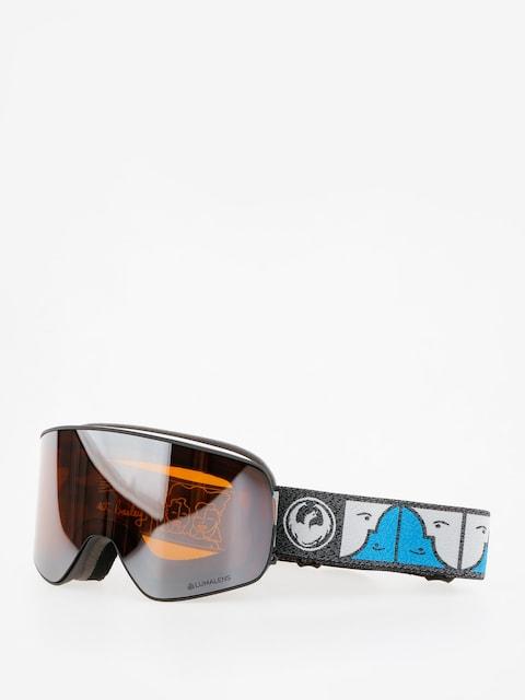 Dragon Goggles NFX2 (forest bailey sig/lumalens silver ion/dark smoke)