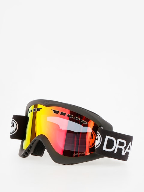 Dragon Goggle DX (black/lumalens red ion)