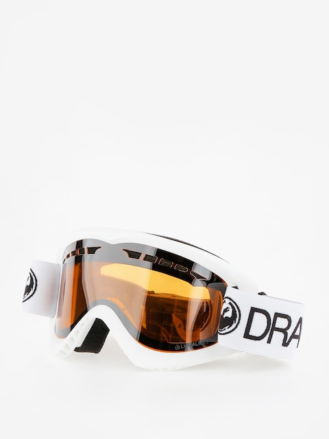 Dragon Goggles DX (white/lumalnes silver ion)