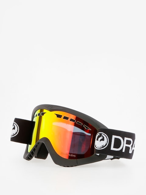 Dragon Goggle DXS (black/lumalens red ion)