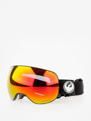 Dragon Goggles X2 (black/lumalens red ion/l rose)