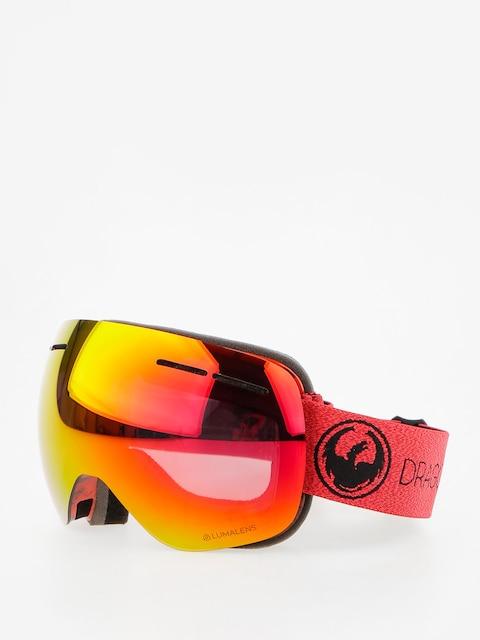 Dragon Goggles X1s (mill/lumalens red ion/l rose)