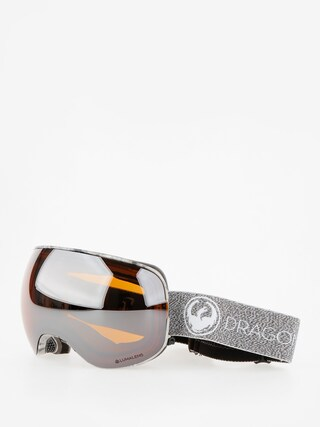 Dragon Goggles X2 (mill/lumalens silver ion/dark smoke)