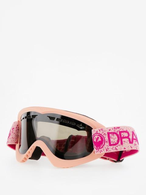 Dragon Goggles DX (pink/dark smoke)