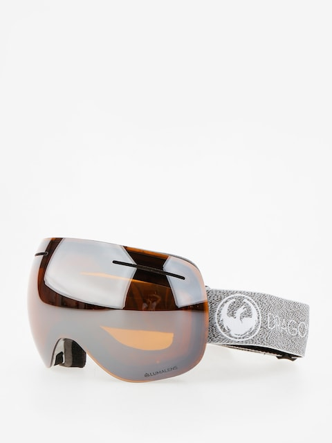 Dragon Goggle X1 (mill/lumalens silver ion/dark smoke)
