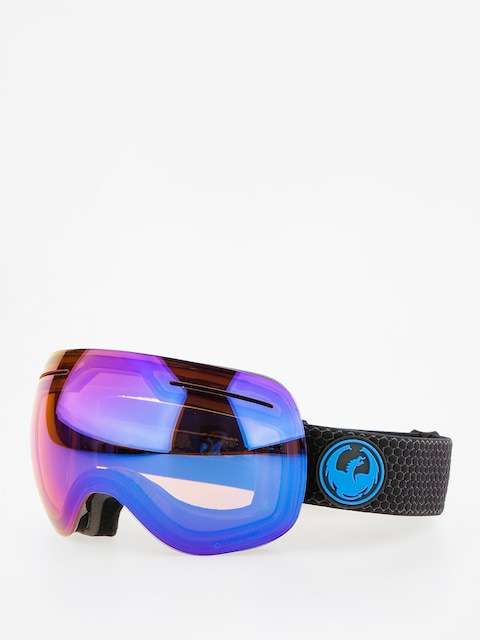 Dragon Goggles X1 (split/lumalens blue ion/l amber)
