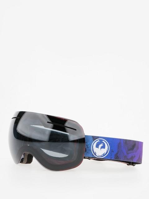 Dragon Goggle X1 (ink/dark smoke/l flash blue)