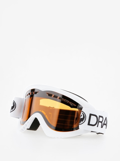 Dragon Goggles DX (white/lumalens amber)