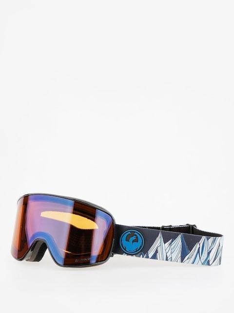 Dragon Goggles NFX2 (chris benvhetler sig/lumalens flash blue/dark smoke)