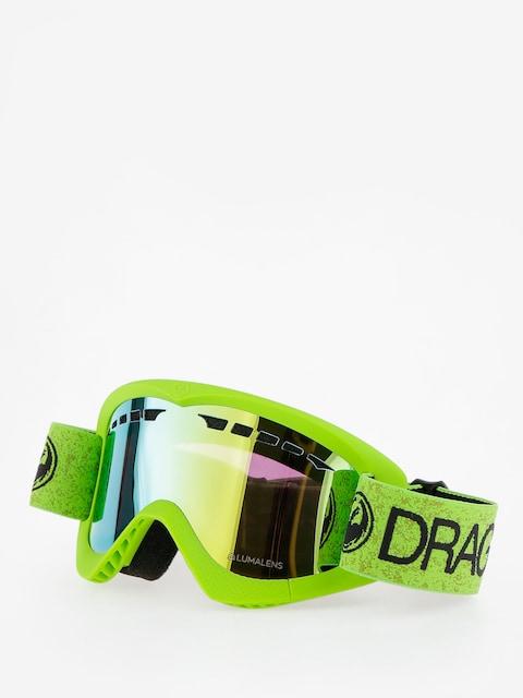Dragon Goggle DXS (green/lumalens gold ion)