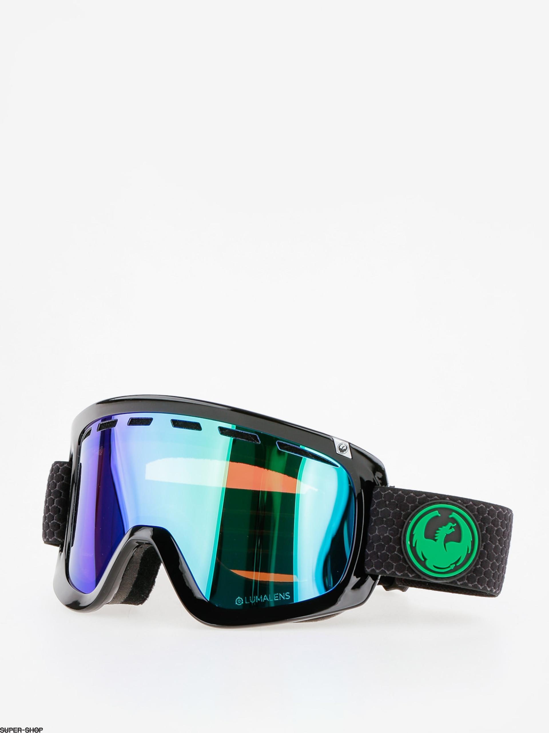 31870895692 Dragon Goggles D1 (split lumalens green ion l amber)