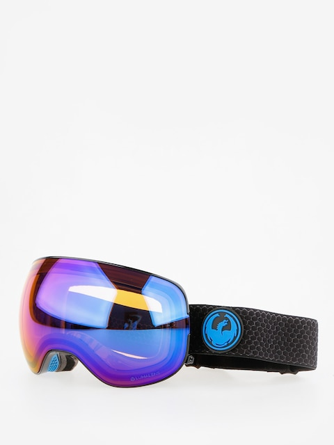 Dragon Goggle X2 (split/lumalens blue ion/l amber)