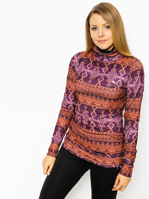 Burton Active longsleeve Mdwt Long Neck Wmn (starling mojave)