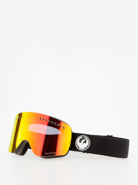 Dragon NFXs Goggles (black/lumalens red ion/l rose)