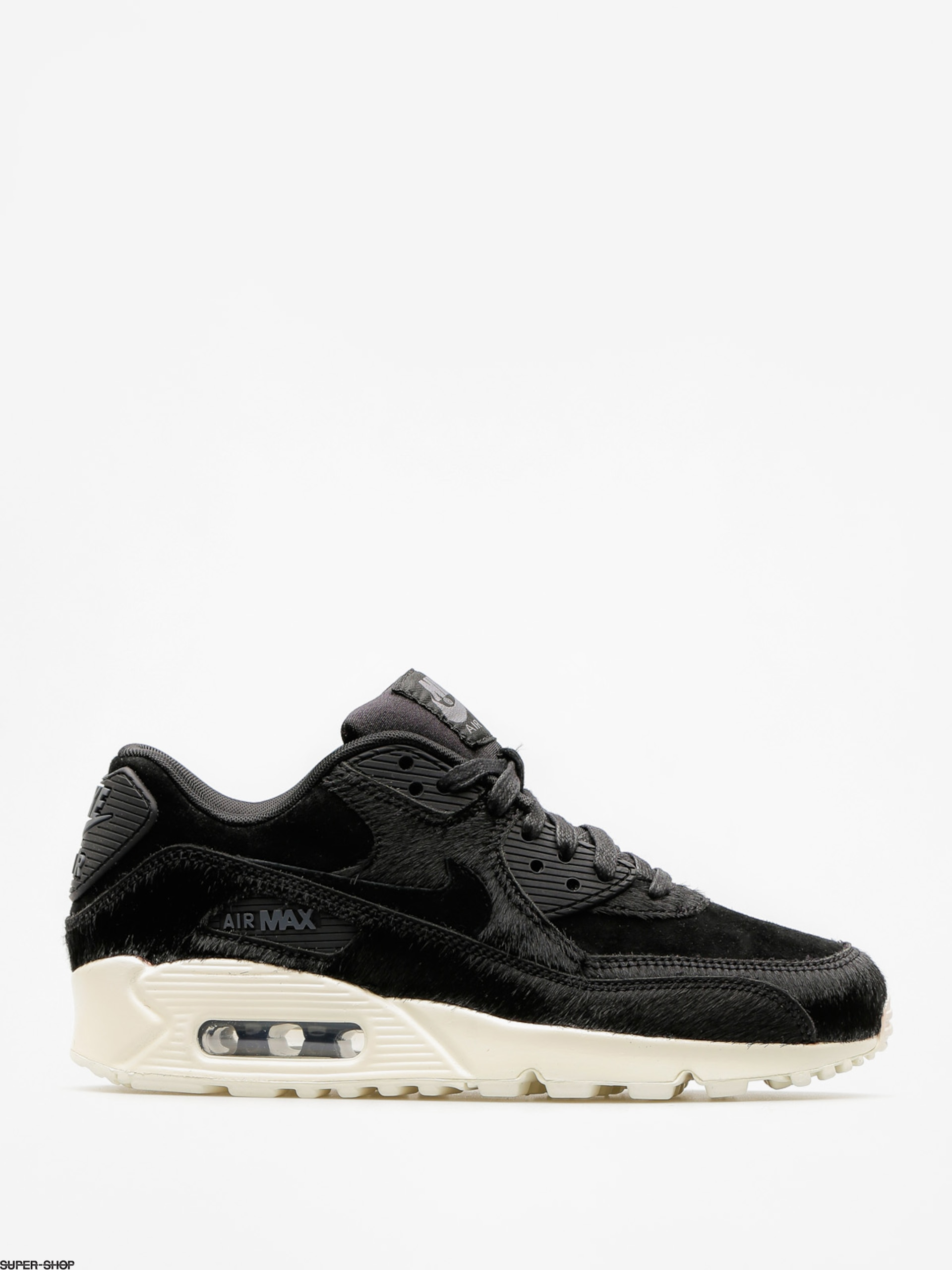 Nike Shoes Air Max 90 Lx Wmn (black/black dark grey sail)