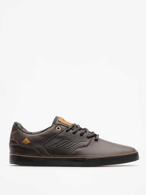 Emerica Shoes The Reynolds Low Vulc (dark brown)