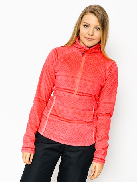 Roxy Fleece  Cascade Wmn (neon pink)