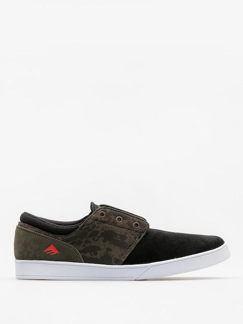 Emerica Shoes The Figueroa (black/green/gum)