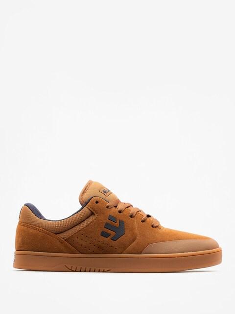 Etnies Shoes Marana (brown/navy/gum)