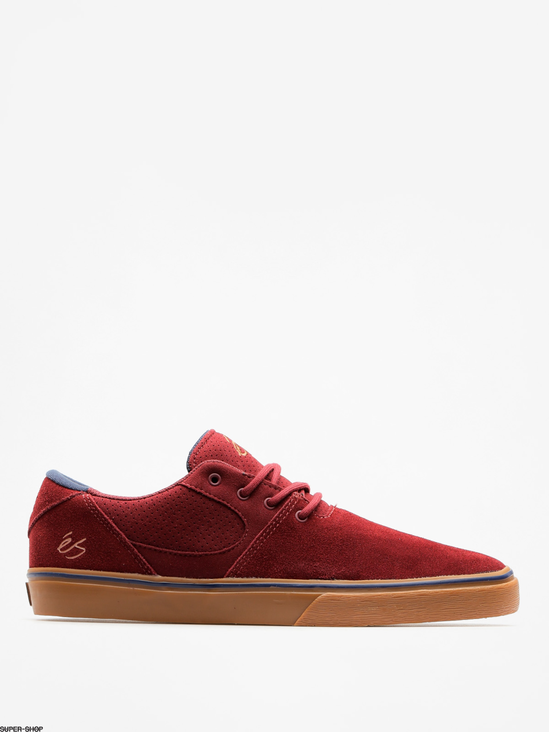 Es Shoes Accel Sq (burgundy/gum)