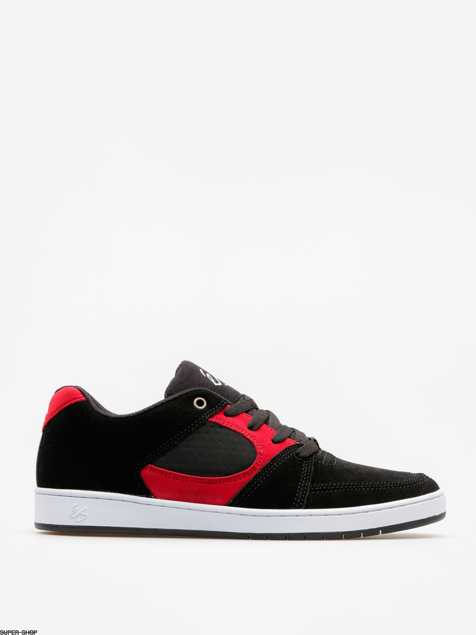Es Shoes Accel Slim (black/red/white)