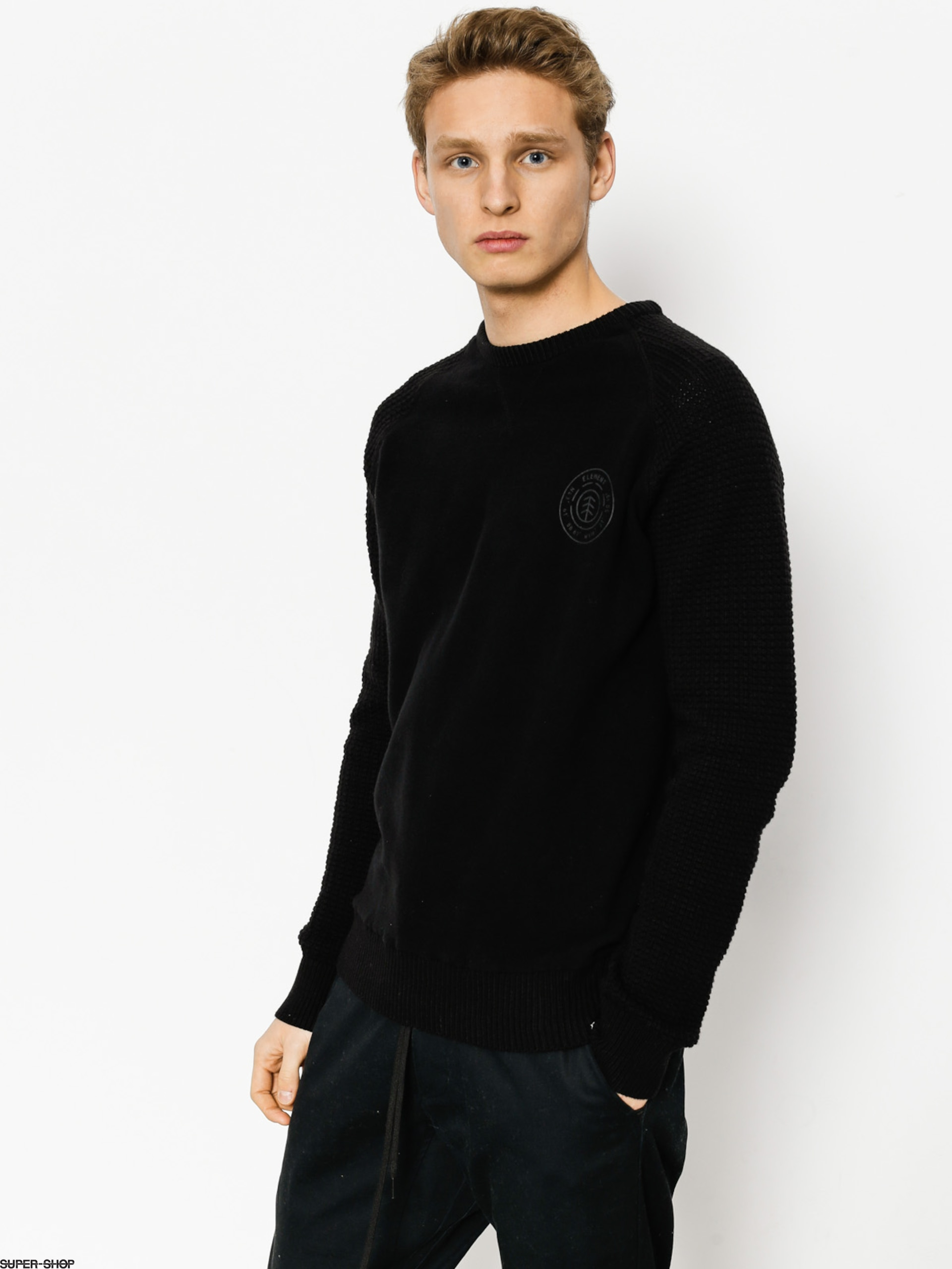 Element Sweater Romney (flint black)