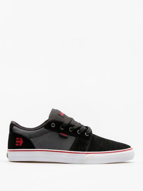 Etnies Shoes Barge Ls (black/dark grey)