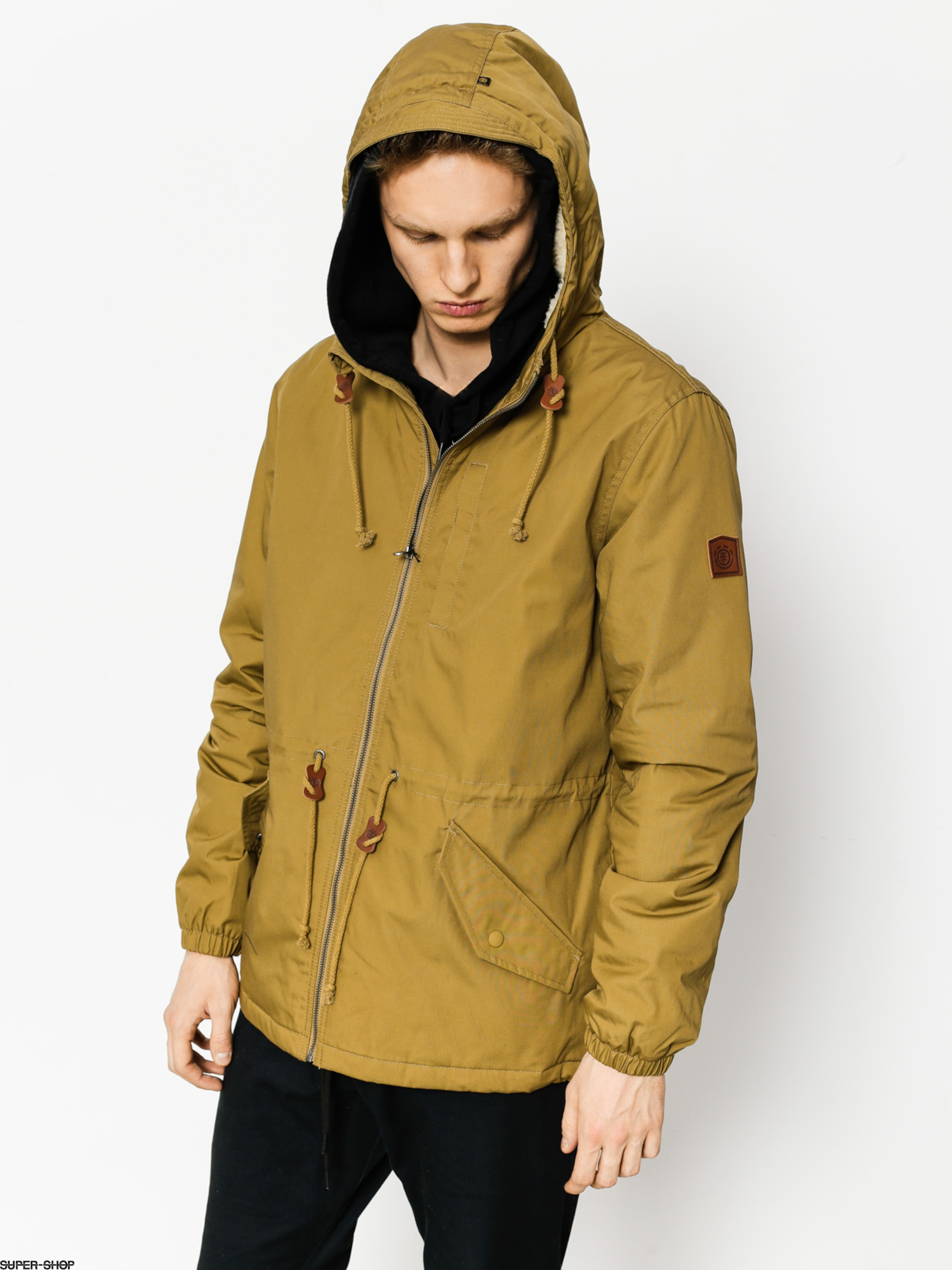 Element Jacke Stark (canyon khaki)