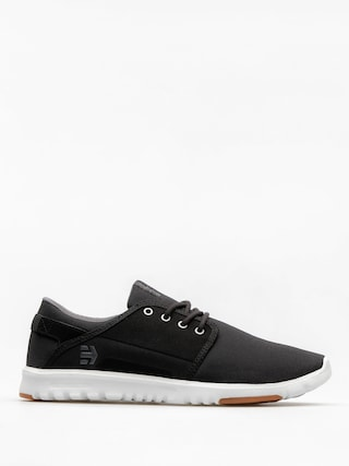 Etnies Shoes Scout (black/charcoal/gum)