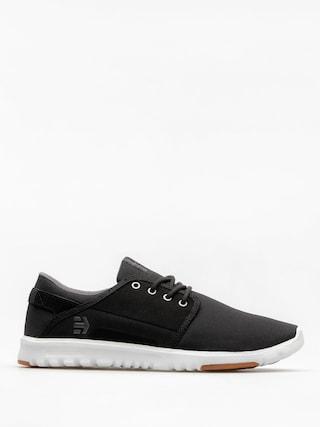 Etnies Shoes Scout (black/charcoal/gum)