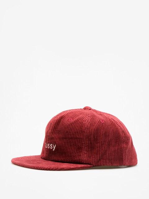 Stussy Cap Cord Strapback ZD (burgundy)