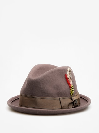 Brixton Hat Gain Fedora (grey gold)