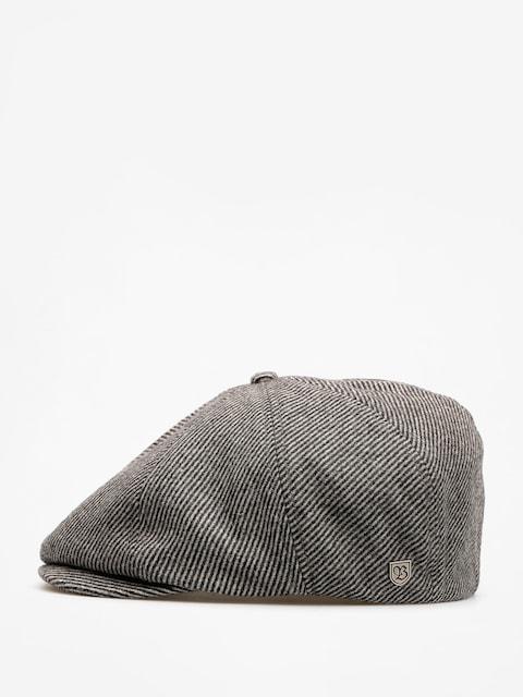 Brixton Flat cap Brood Snap ZD (black/bone)