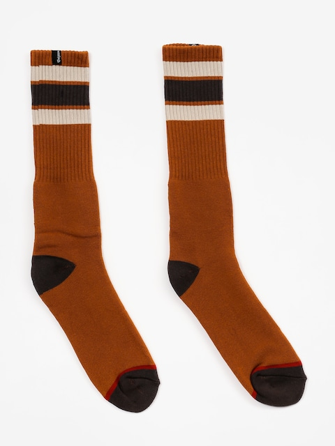 Brixton Socks Alameda (rust)