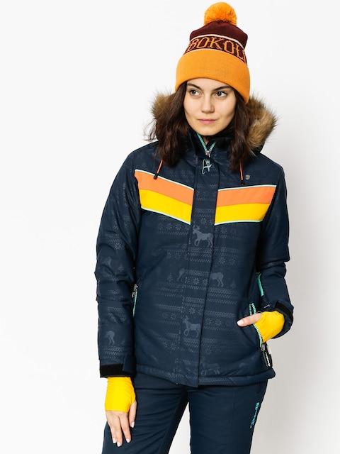 Rehall Snowboardjacke Kara Wmn (raindeer navy embossed)