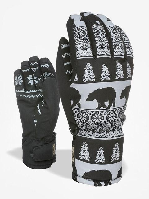 Level Gloves Bliss Coral Wmn (black/grey)