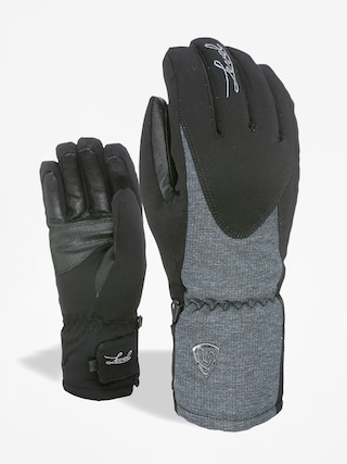 Level Gloves Alpine Wmn (black/grey)