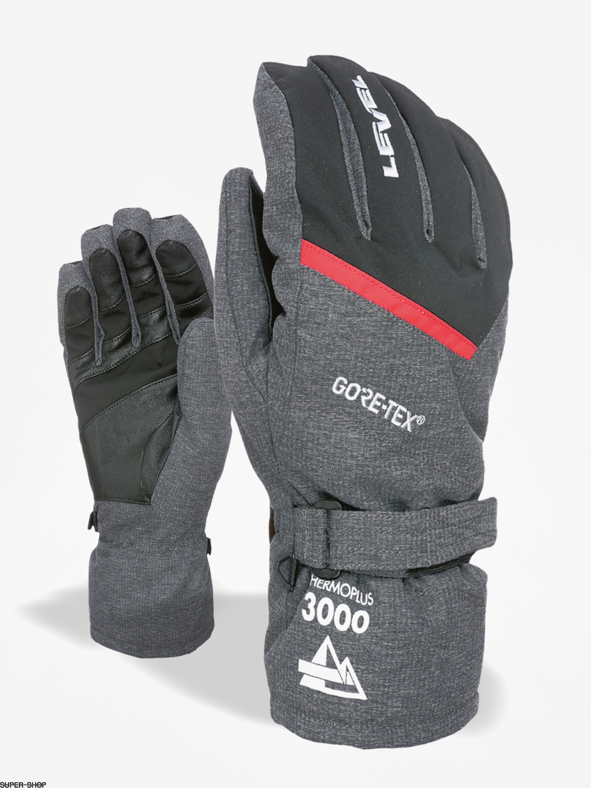 Level Handschuhe Evolution Gore Tex (anthracite)