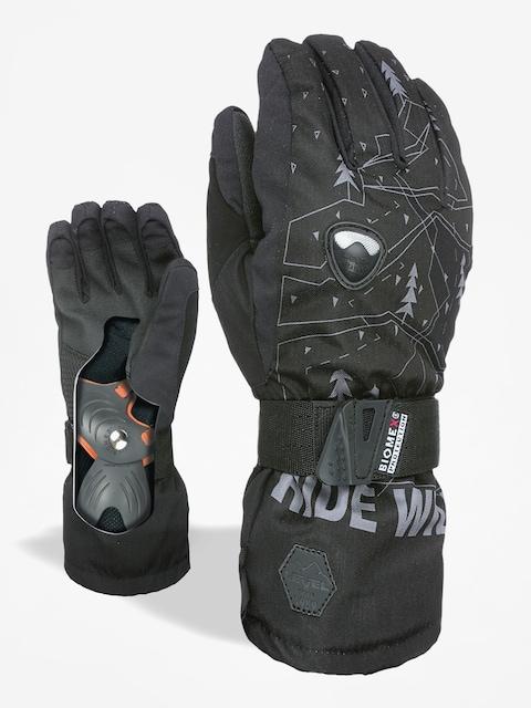 Level Gloves Fly Jr (black/grey)