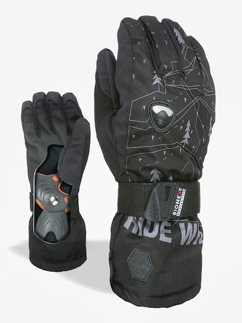 Level Handschuhe Fly Jr (black/grey)