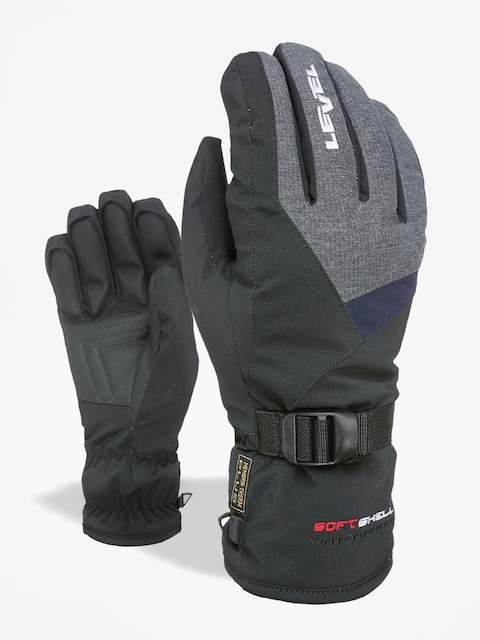 Level Handschuhe Hero (black/grey)