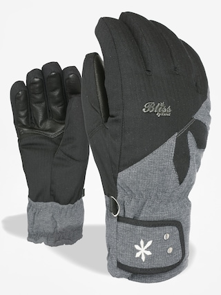 Level Gloves Bliss Sunshine Wmn (pk black)