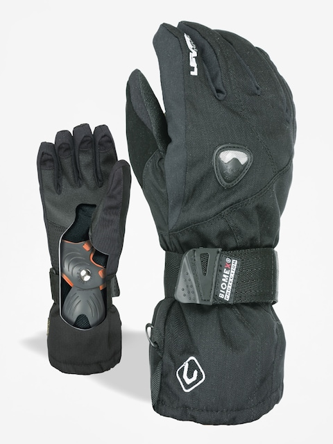 Level Gloves snowboardowe Fly Junior (blk)