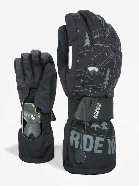 Level Gloves Fly (black grey)