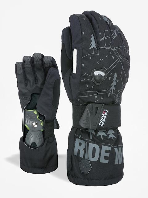 Level Handschuhe Fly (black grey)