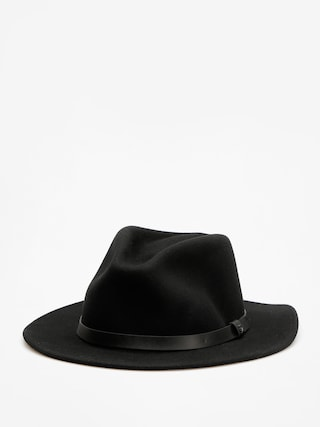 Brixton Messer Fedora Hat (black/black)
