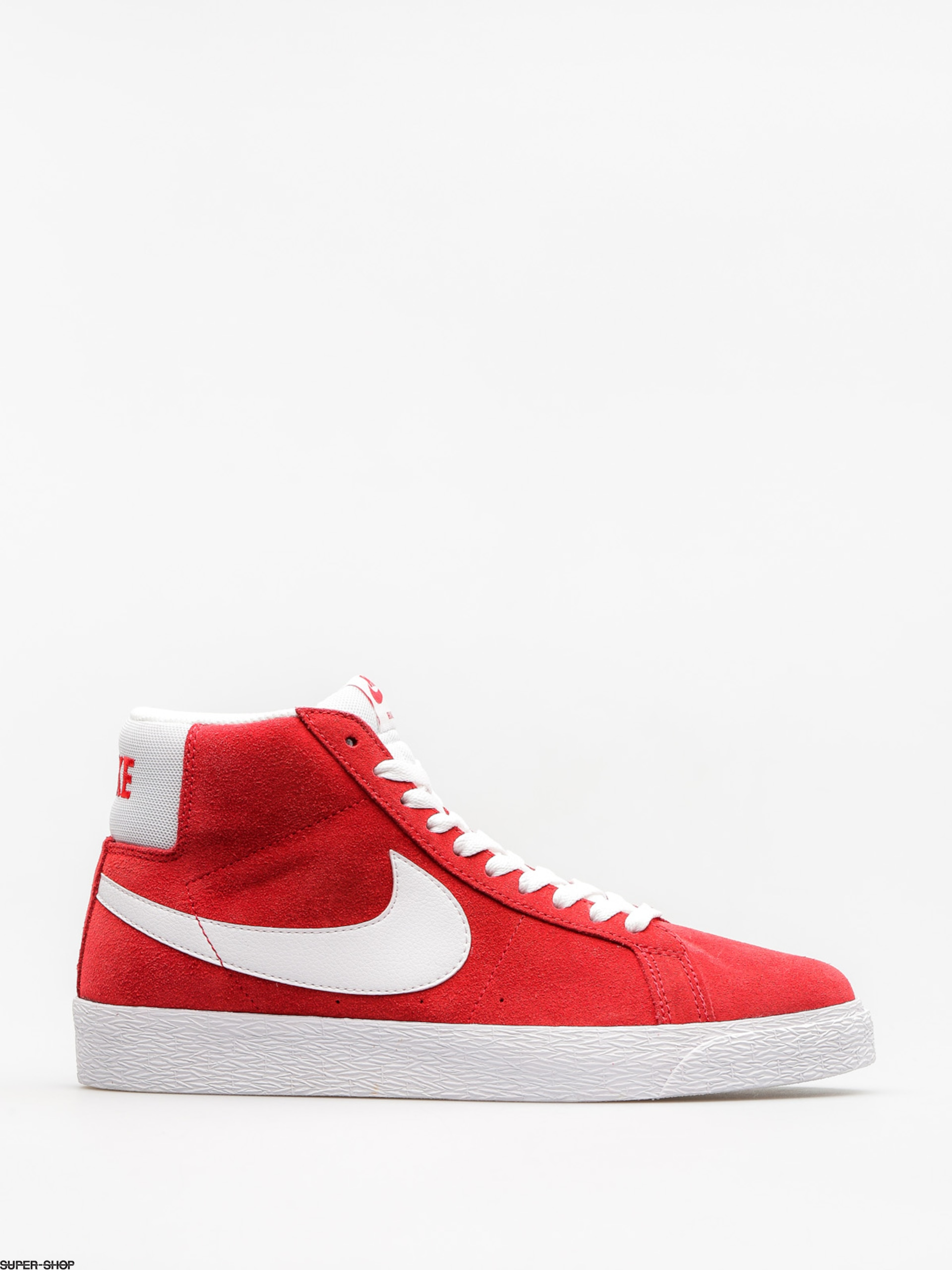 Nike SB Shoes Zoom Blazer Mid (university red/white)