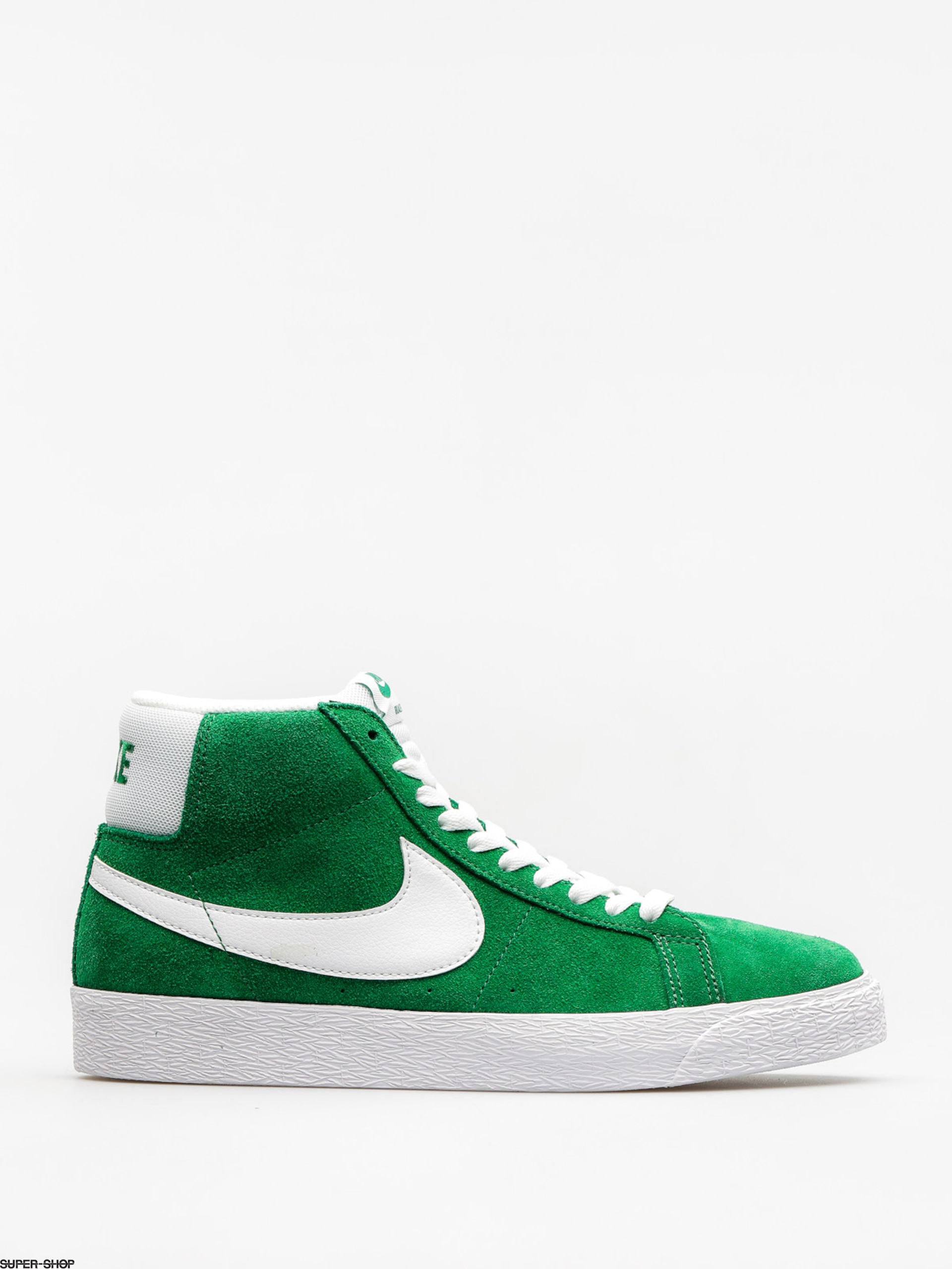 Nike SB Shoes Zoom Blazer Mid (pine green/white)