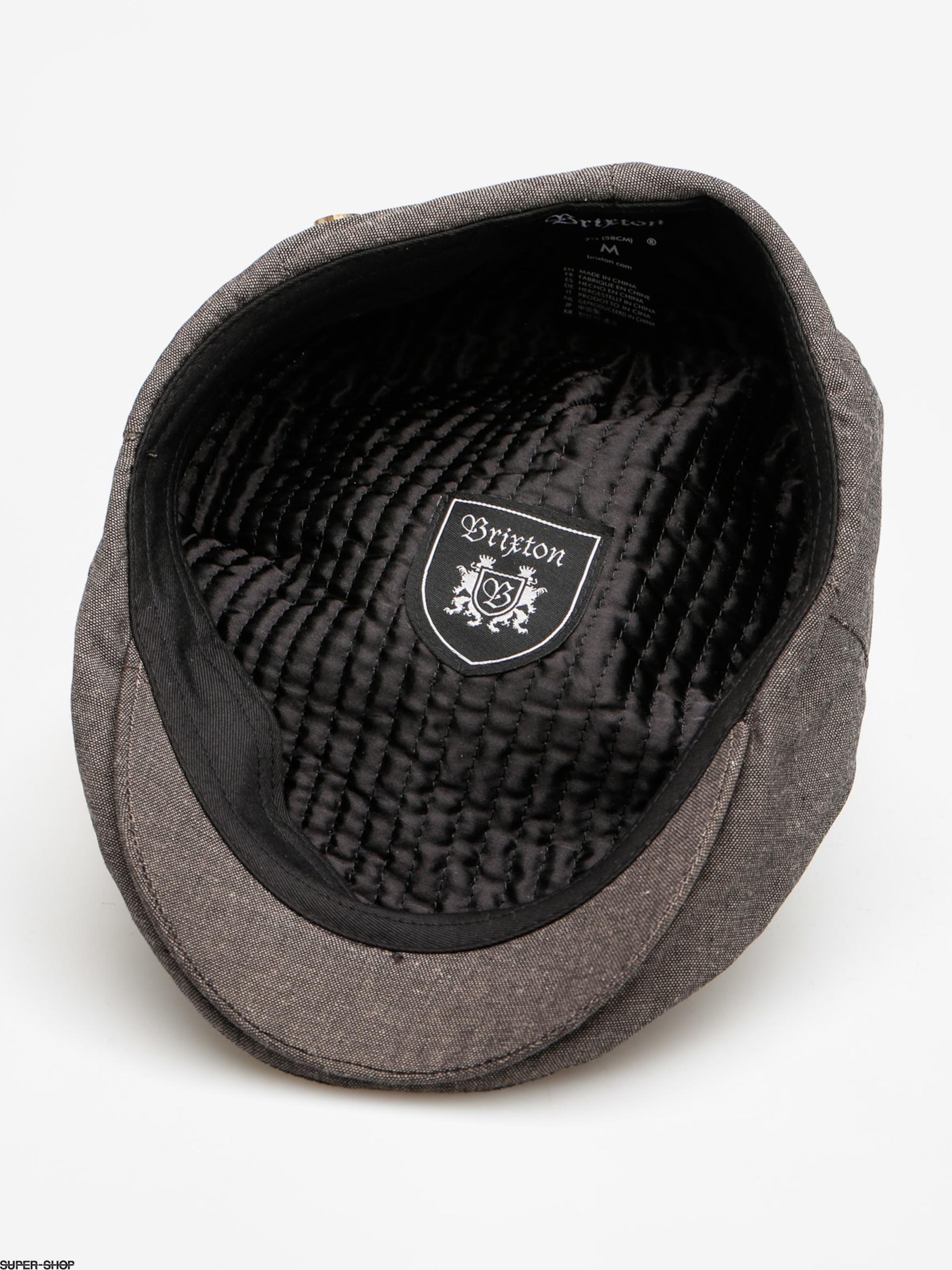 2ea454fbfcc Brixton Flat cap Hooligan Snap ZD (black tint)